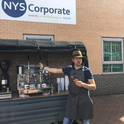Coffee Van Barista NYS
