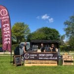 Mobile Coffee Van at London Revolution cycling event