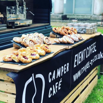 Coffee and Pastries from Camper Cage